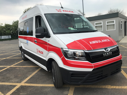 Improving patient comfort and safety through vehicle innovation - Introducing our new fleet.