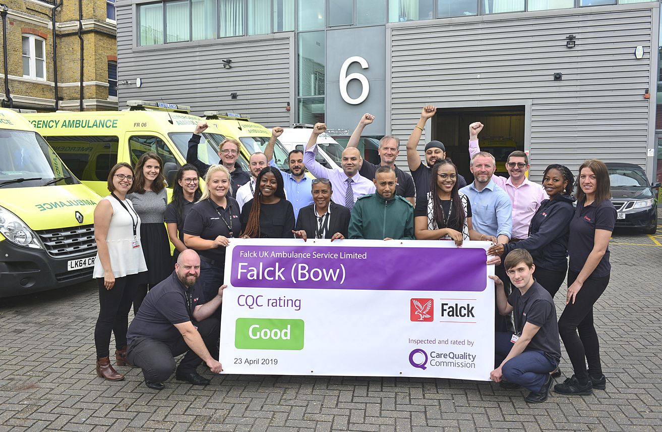 "A second CQC ""Good"" rating for Falck!"