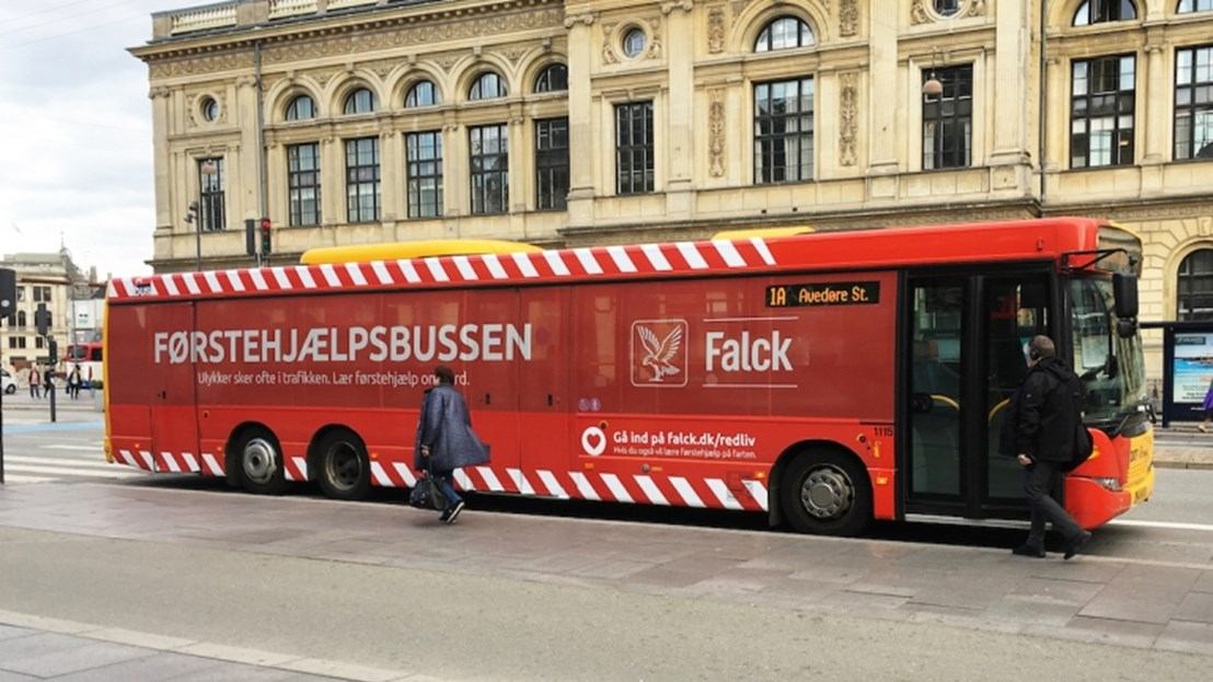 Falck nominated for Innovative First Aid Campaign