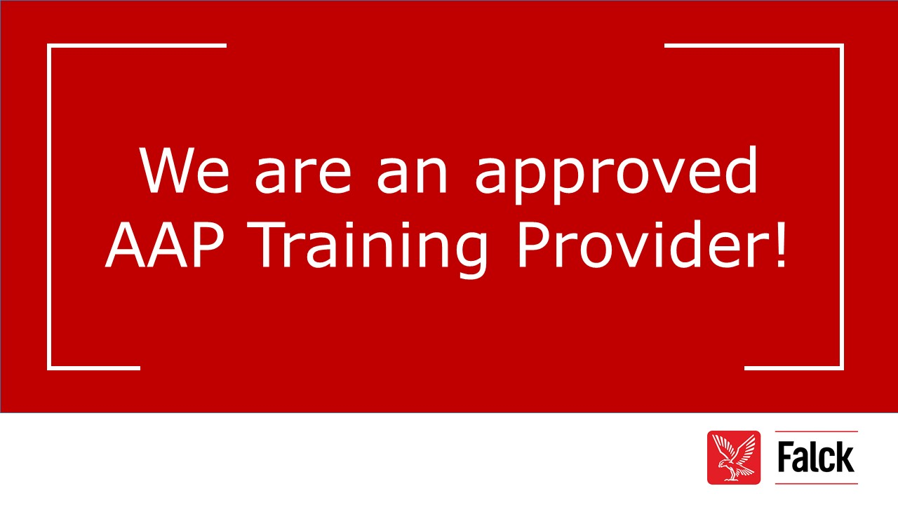We are an Approved AAP Training Provider!